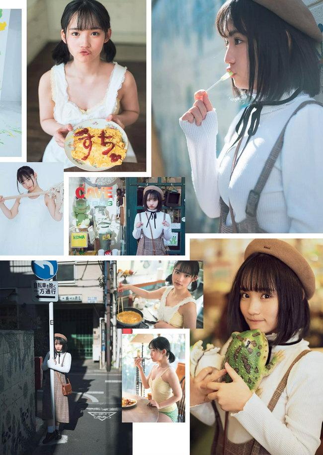 矢作萌夏の着衣巨乳画像5