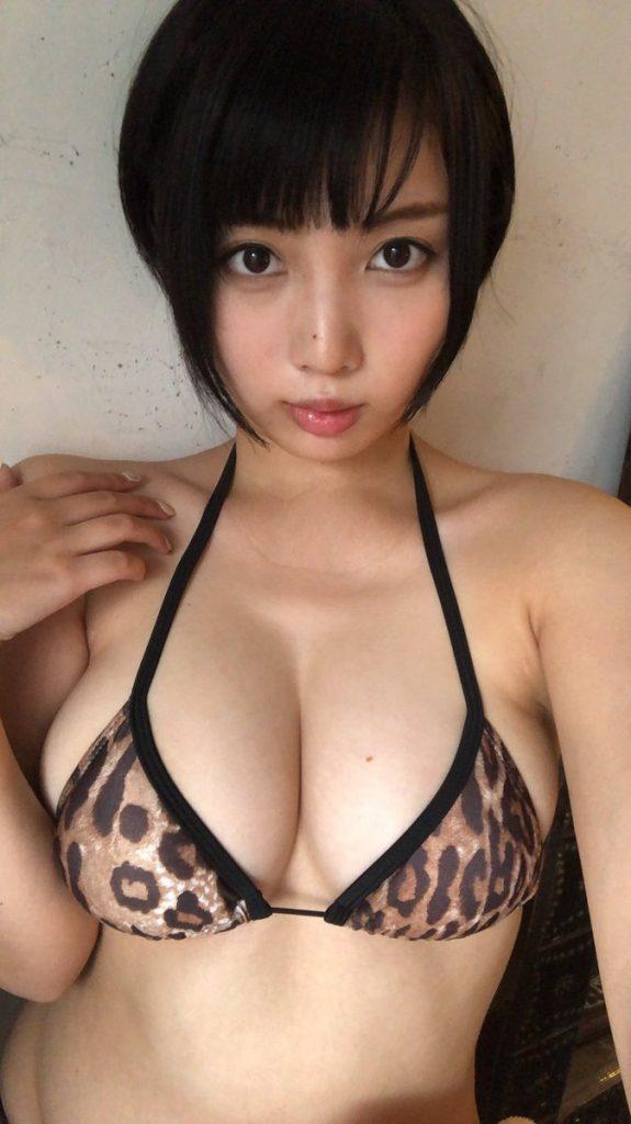 安位薫の自撮り画像9