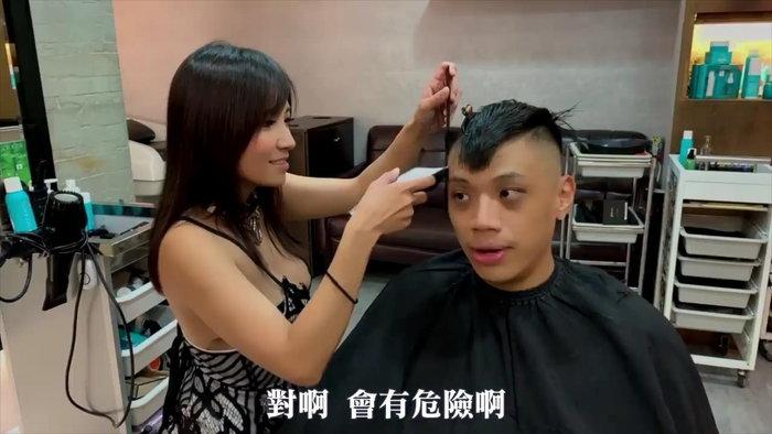 中国人巨乳美容師Vicky6
