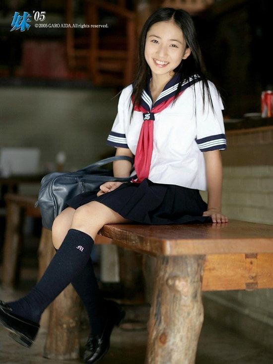 中学生時代の紗綾2